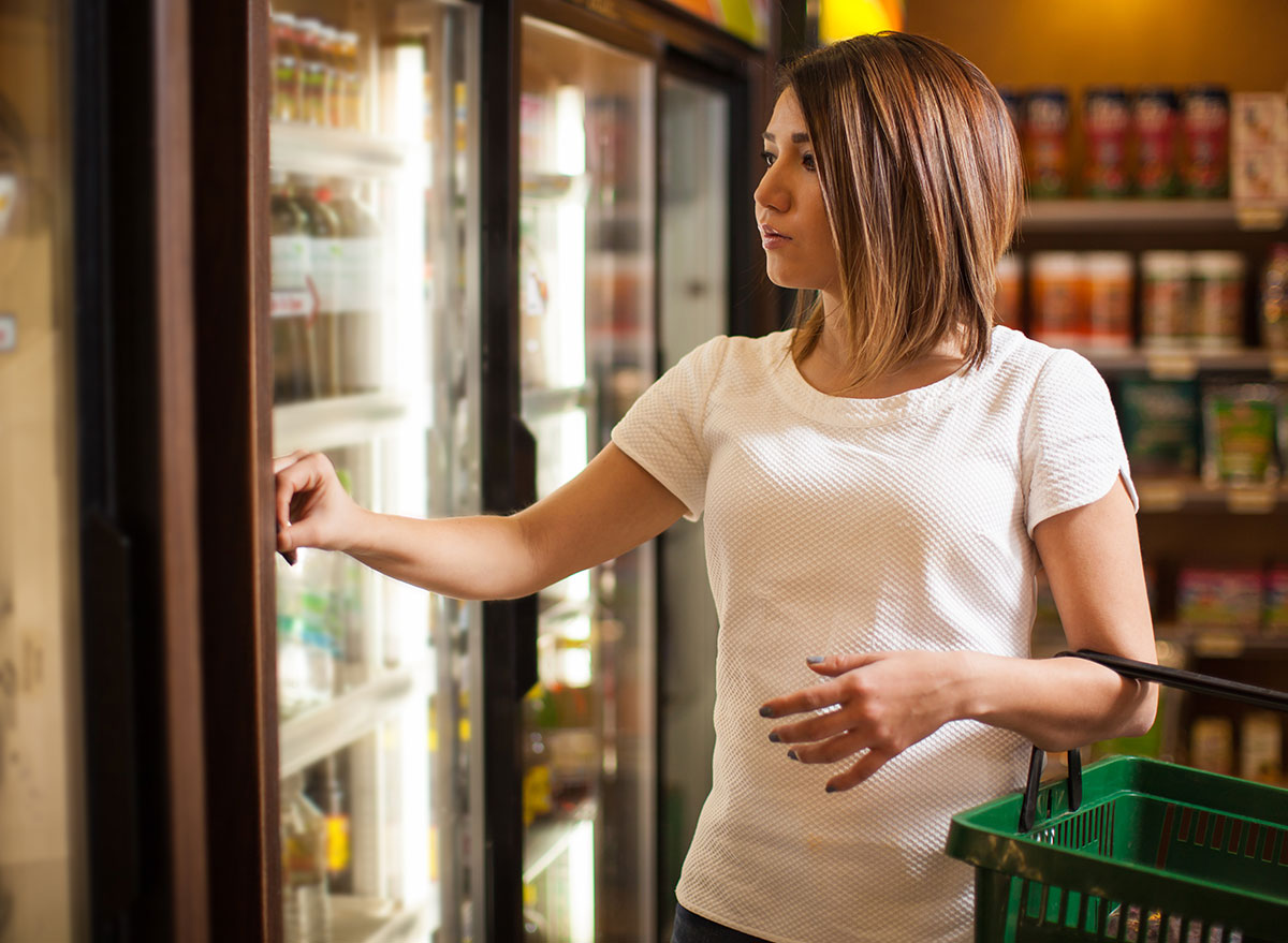refrigerator grocery store