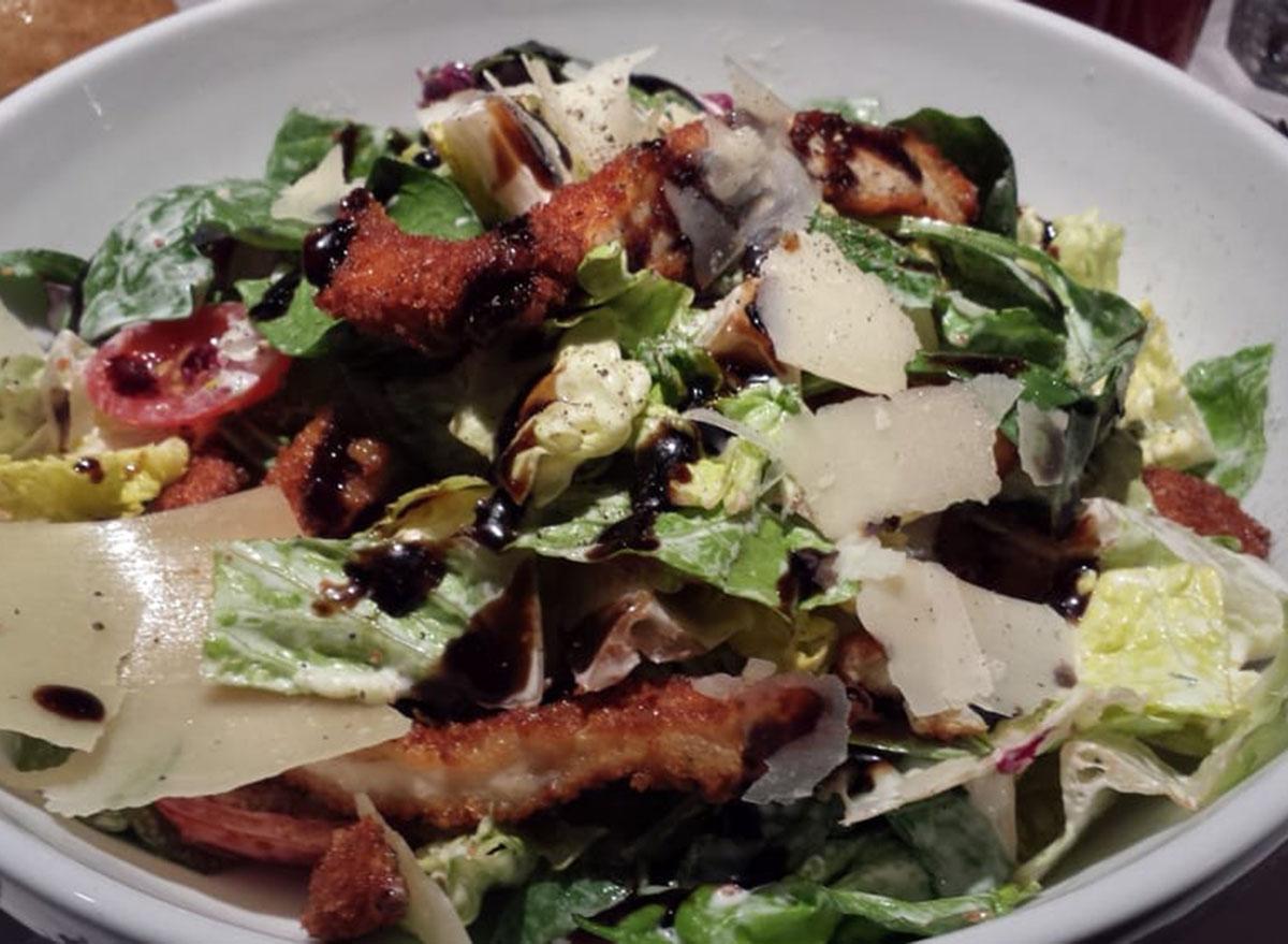 romanos parm crusted salad