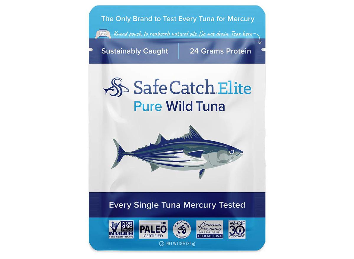 safe catch elite tuna pouch