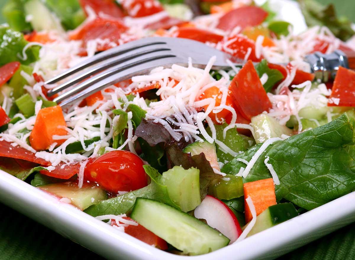 salad shredded cheese