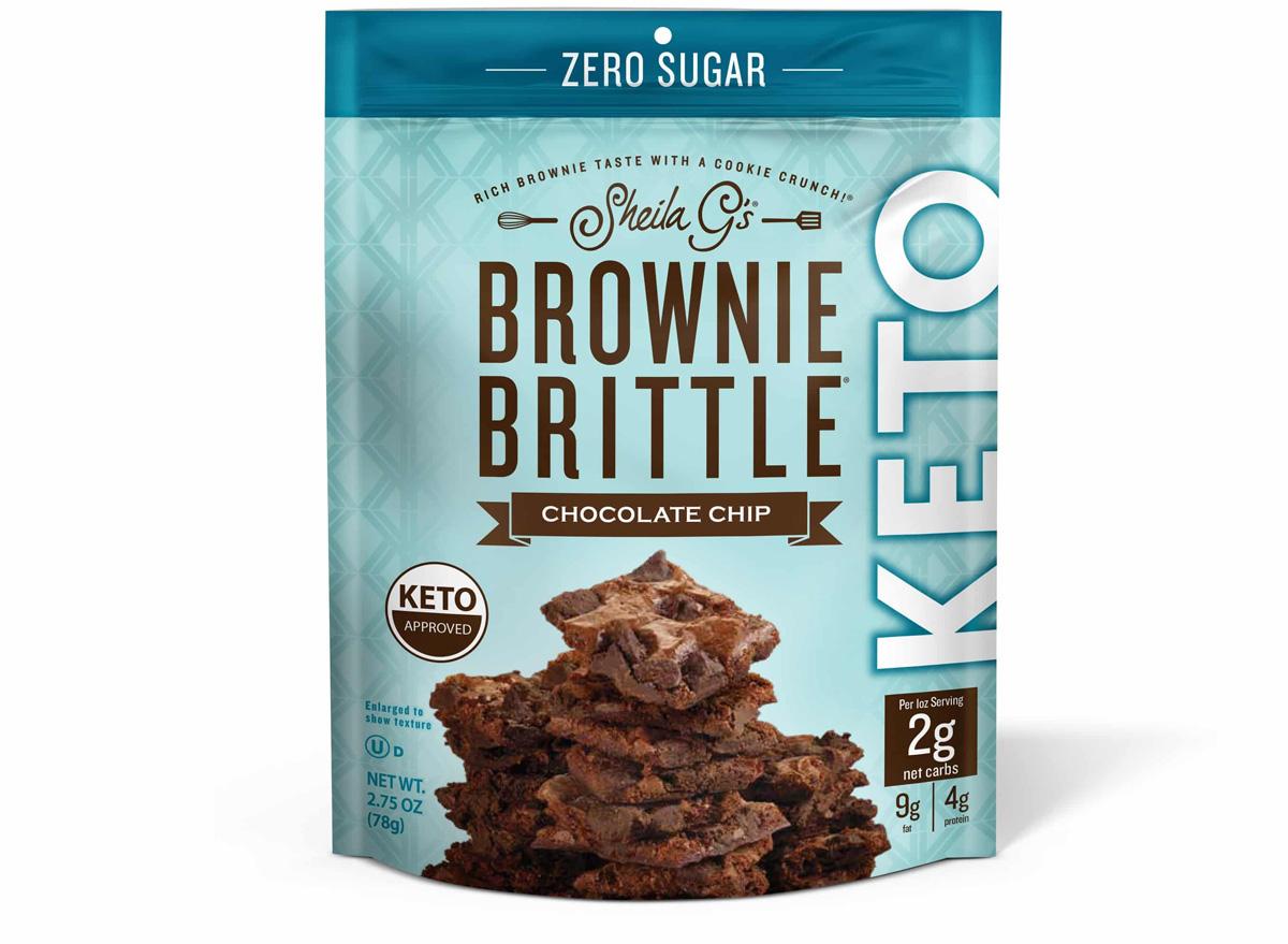 Shiela gs keto brownie brittle
