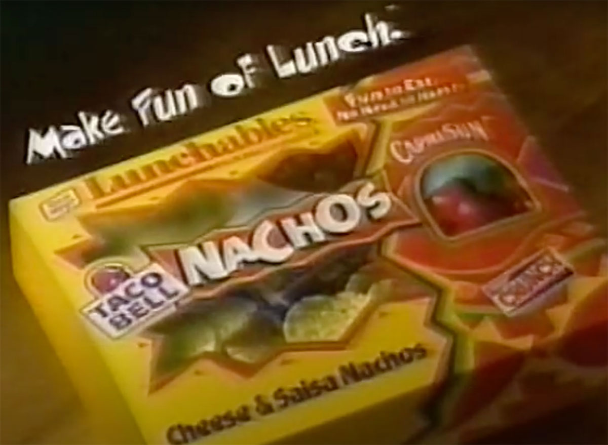 taco bell nacho lunchables