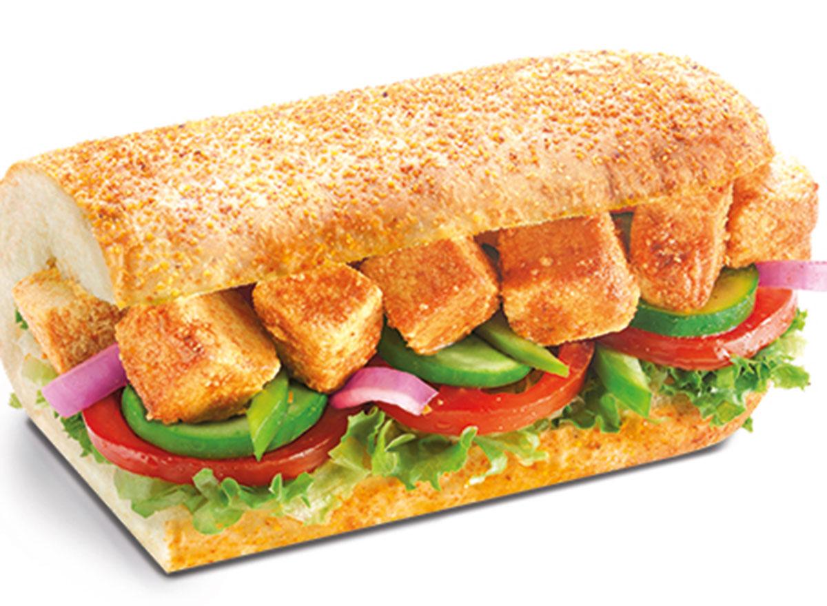 tandoori tofu sandwich