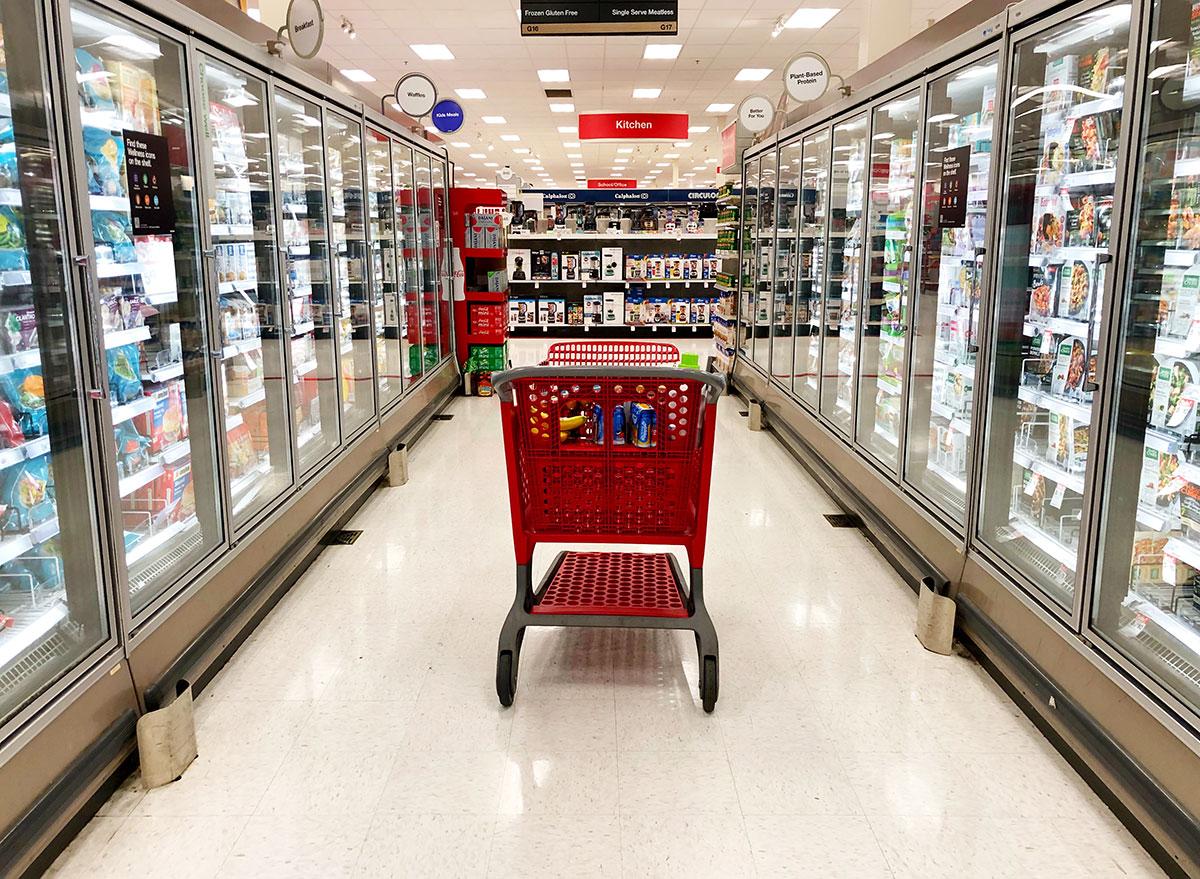 target freezer aisle