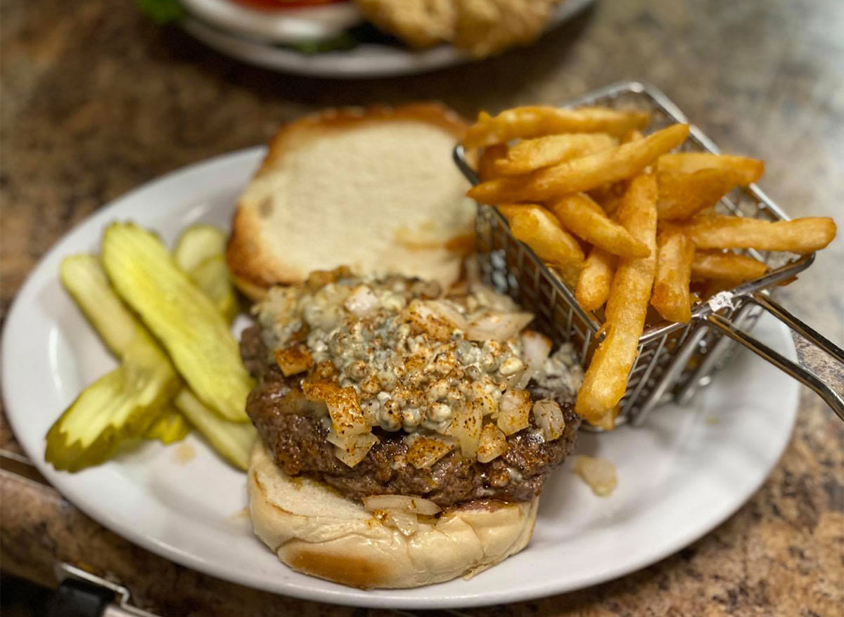 burger and fries from tater patch missouri