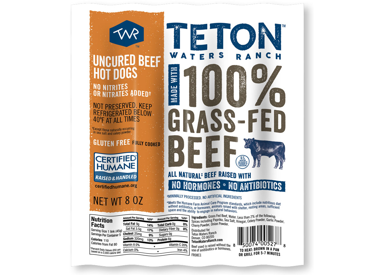 teton waters ranch hot dogs
