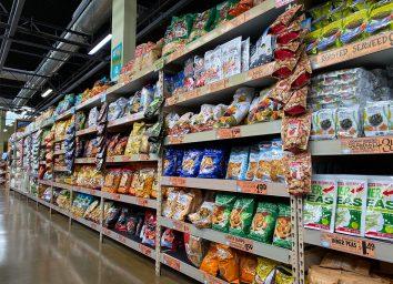 aisle at trader joes