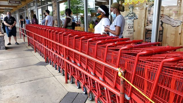 Trader joes carts