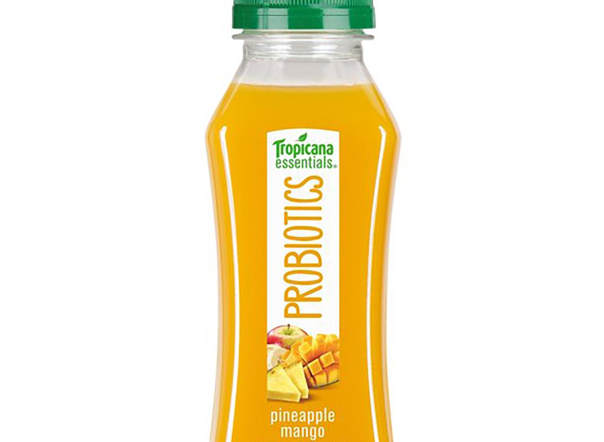 tropicana pineapple mango probiotic juice