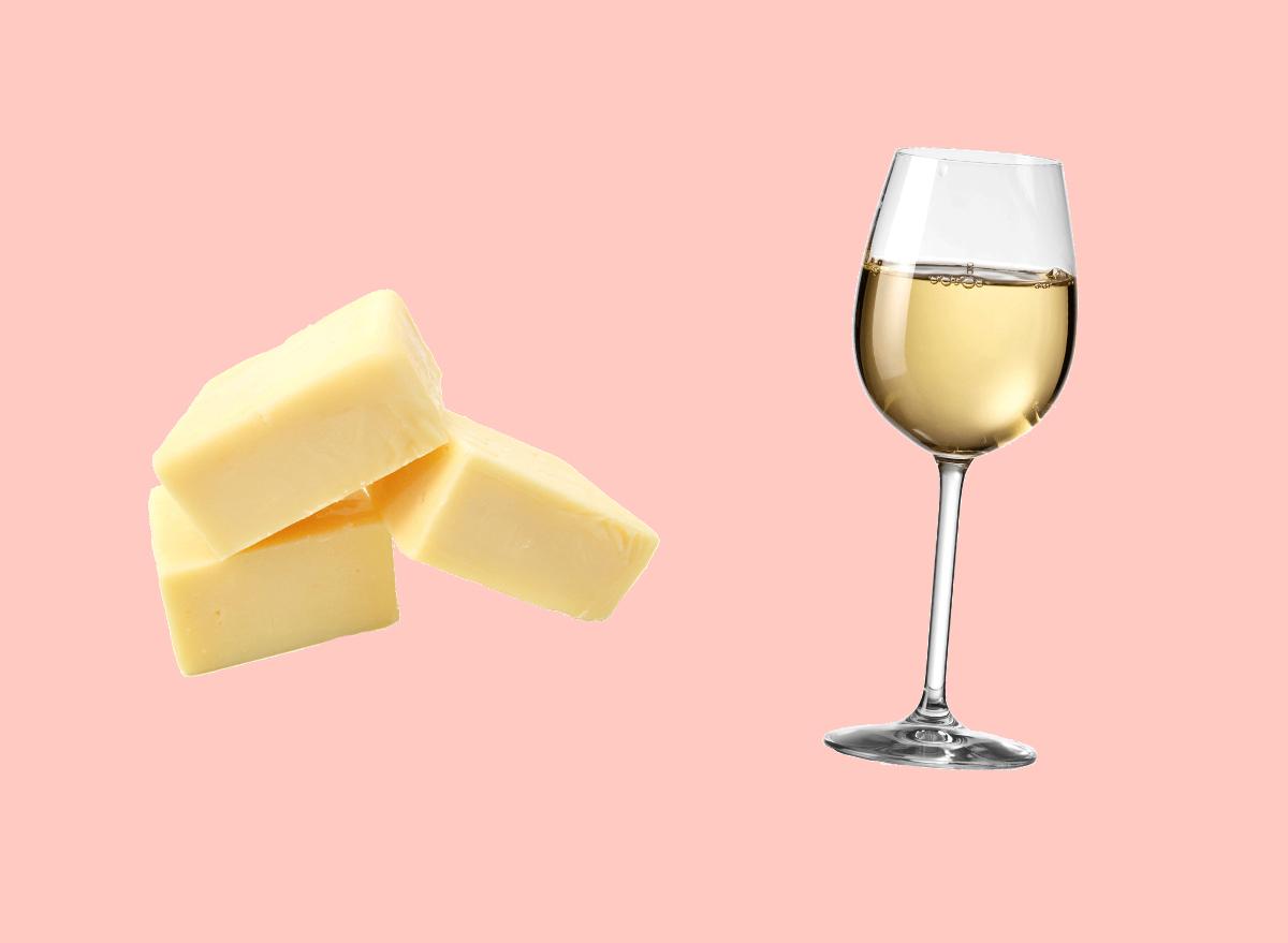 white cheddar and sauvignon blanc