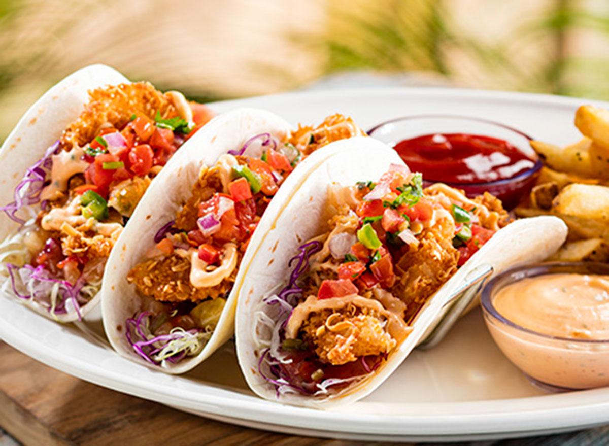 bahama breeze shrimp tacos