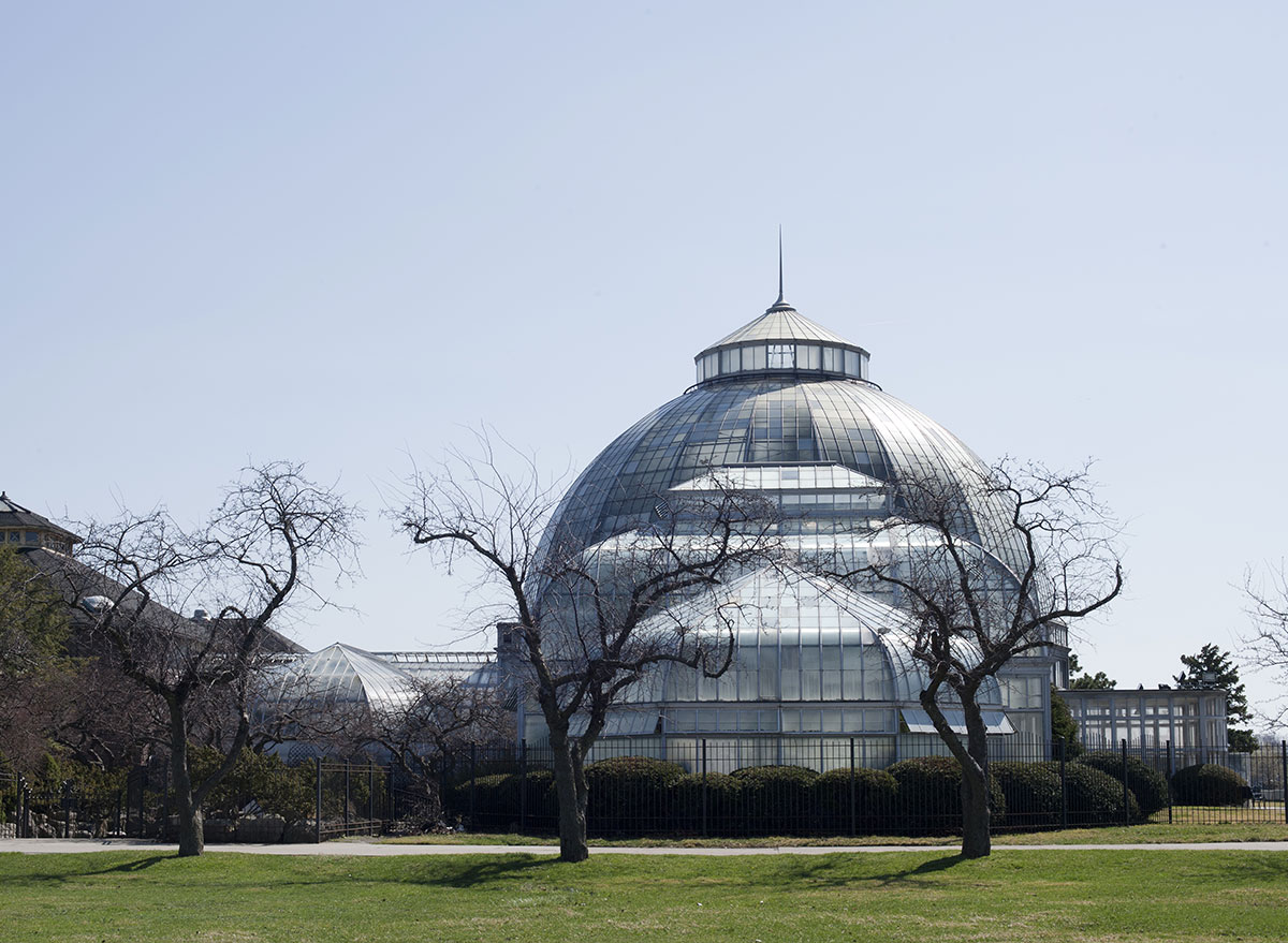 conservatory at belle isle park in detroit