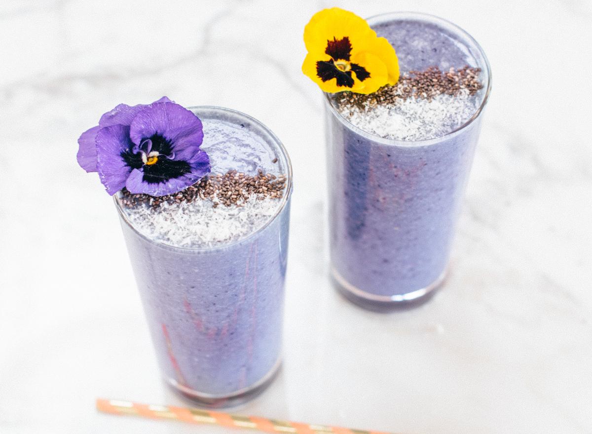berry cauliflower smoothie