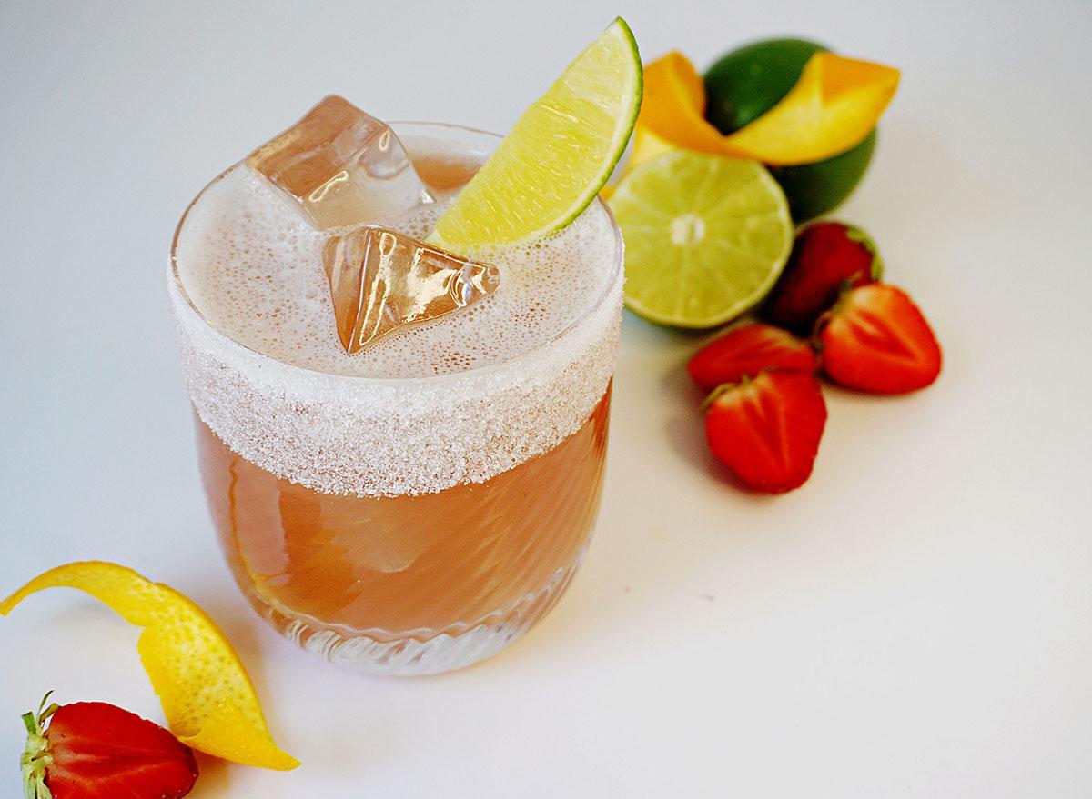 berry hibiscus margarita fruit