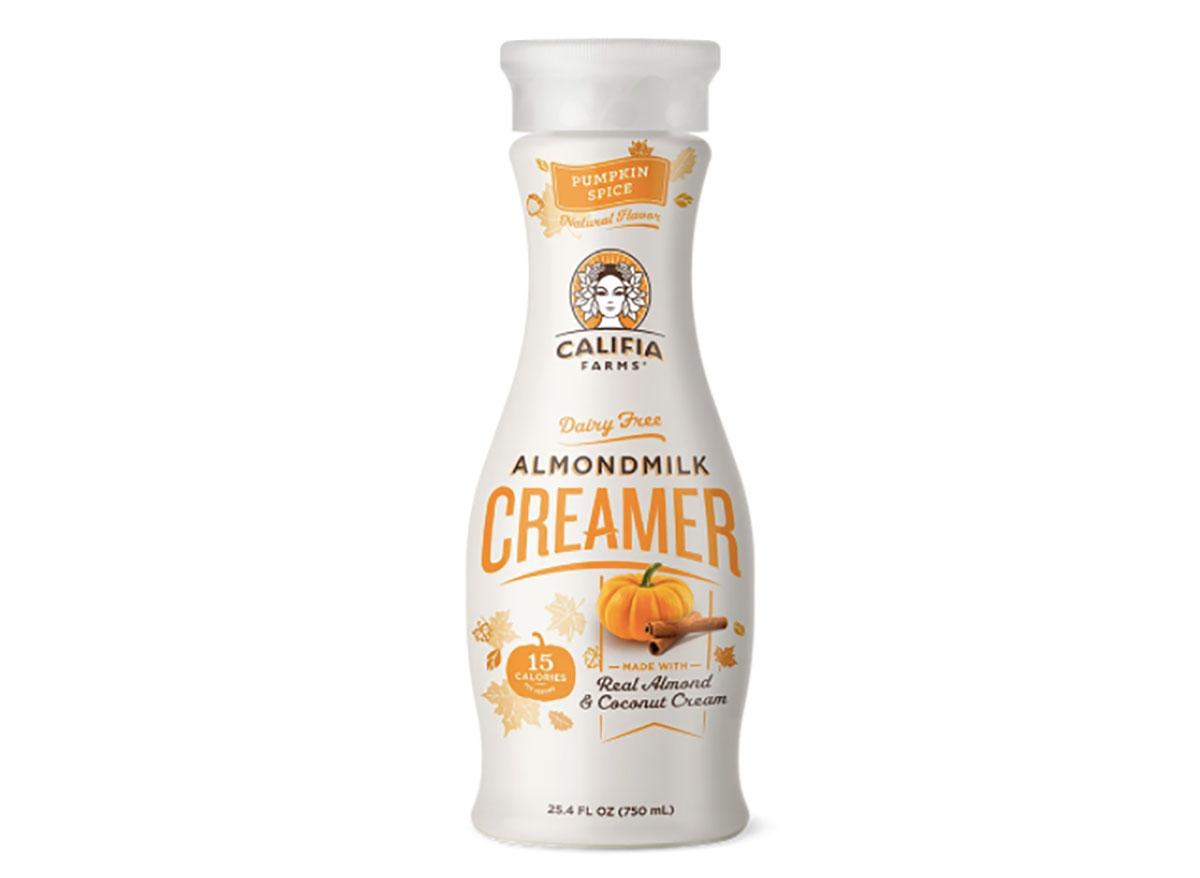 califia farms almondmilk creamer bottle