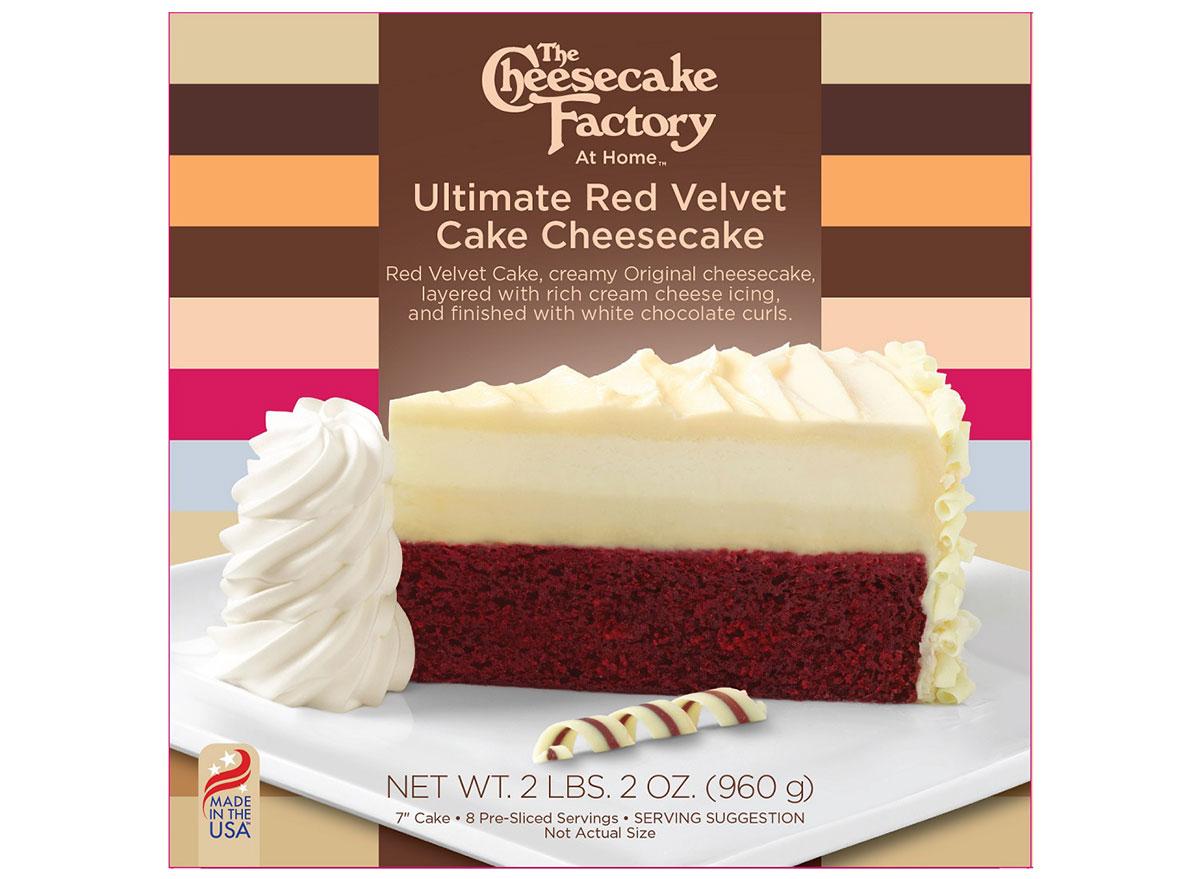 cheesecake factory red velvet