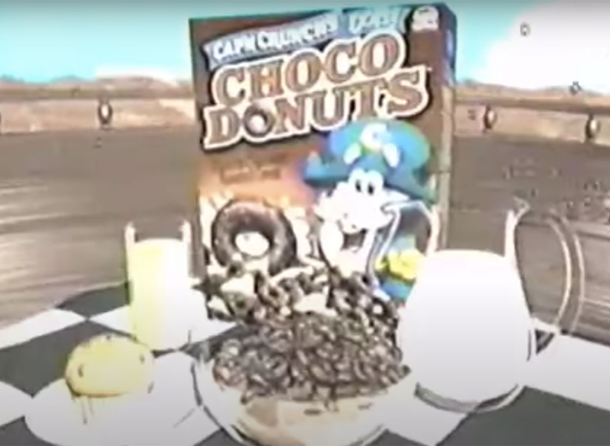 choco donuts cereal