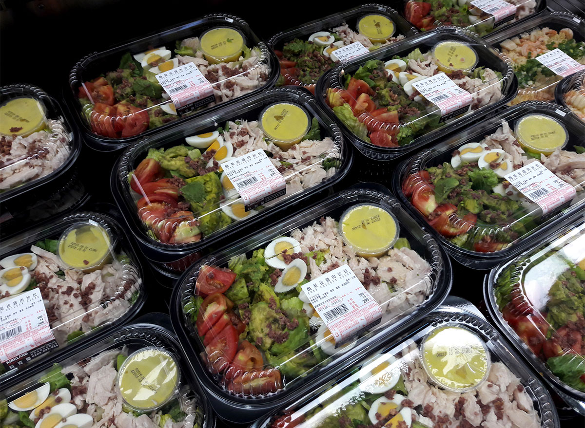 costco salad individual containers
