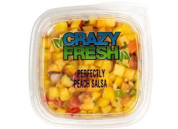 crazy peach salsa