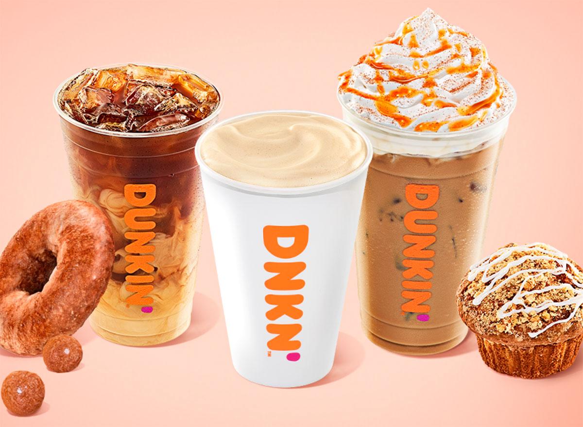 dunkin fall drinks