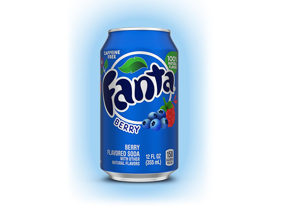 berry fanta soda