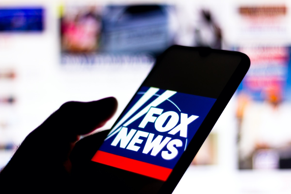 Fox News Channel logo seen displayed on a smartphone.