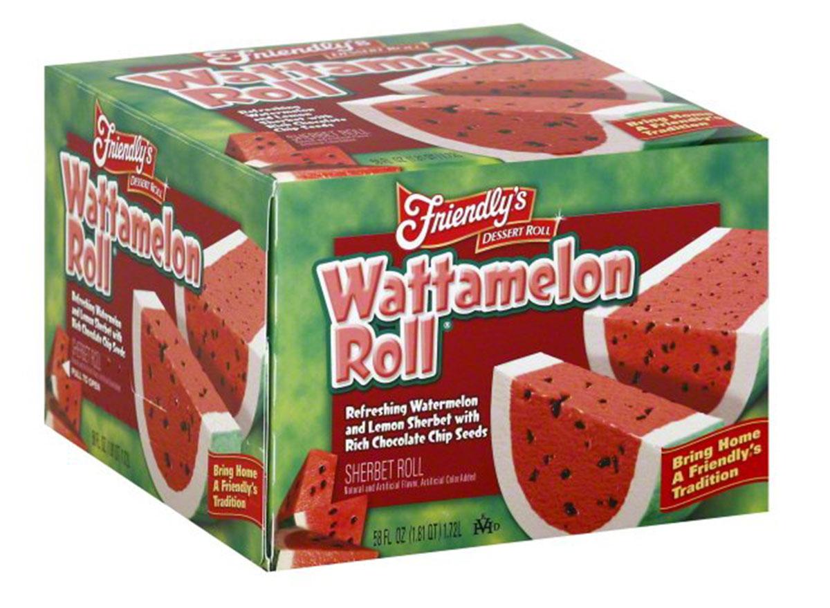 friendlys watermelon roll