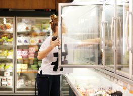 frozen food shopping