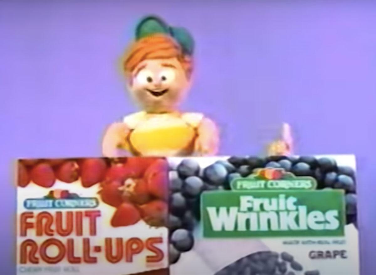 fruit wrinkles commercial still