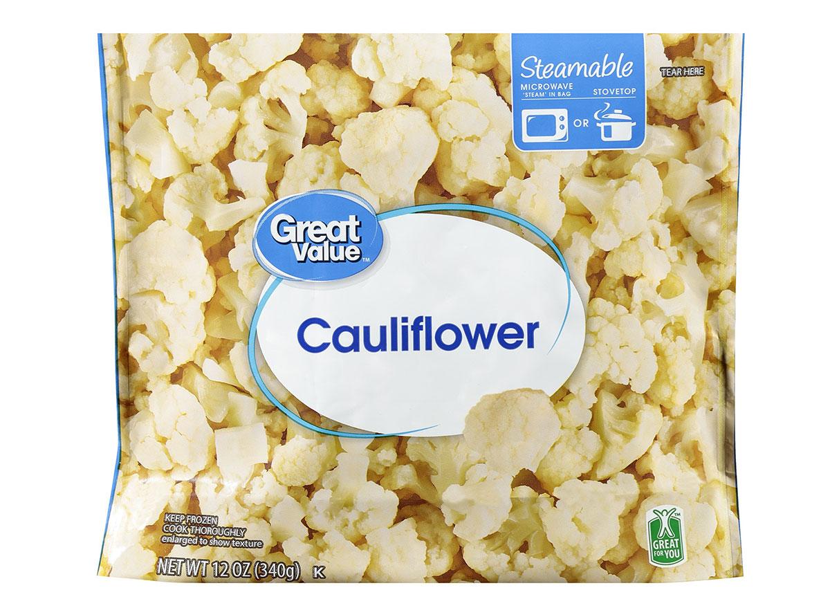 great value frozen cauliflower