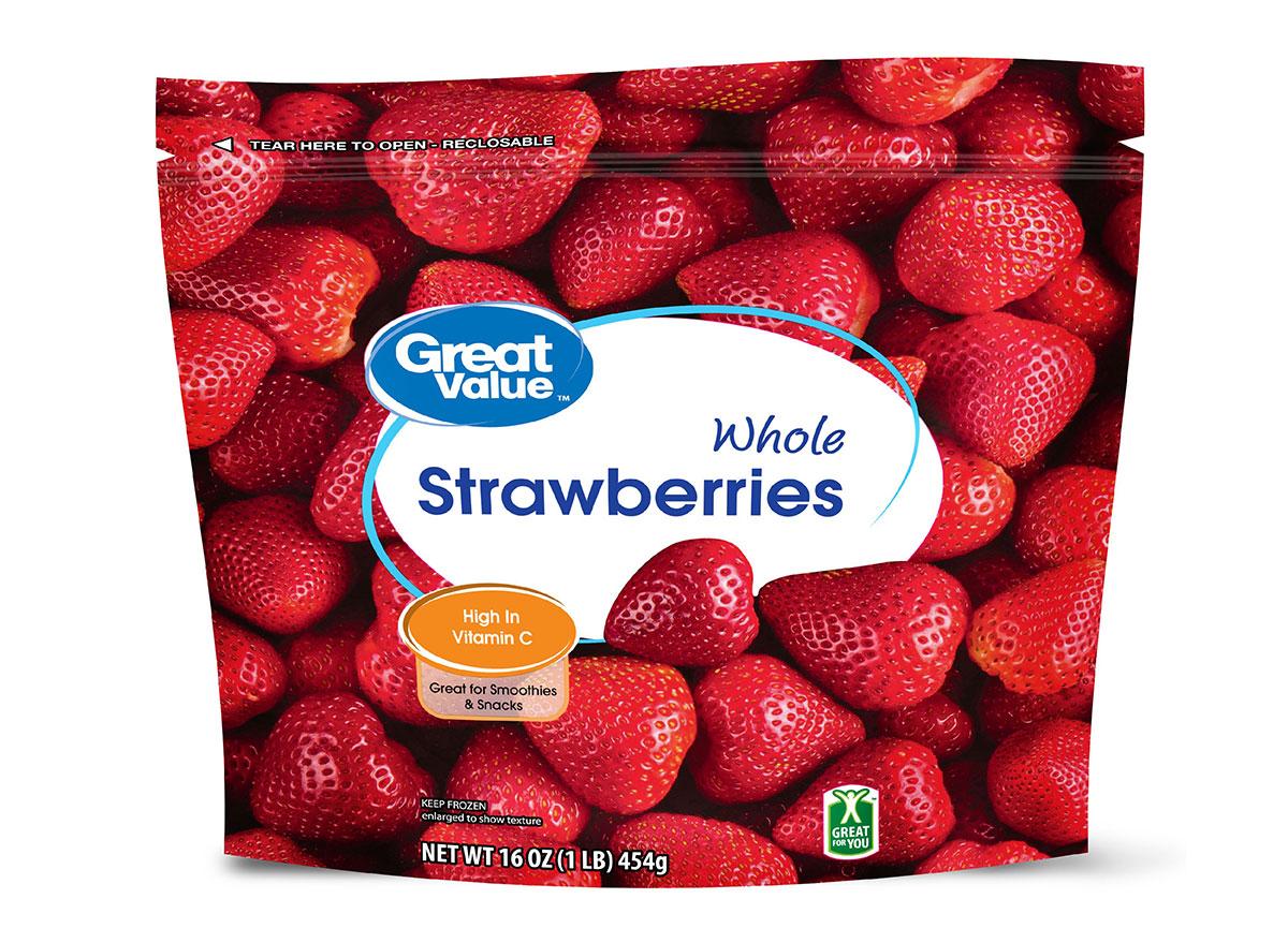 great value frozen strawberries