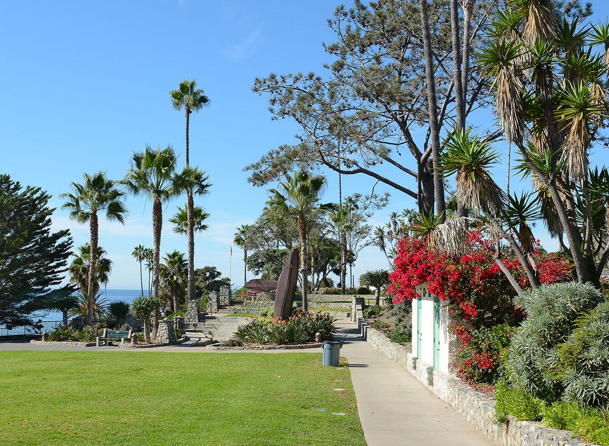 heisler park in laguna beach california