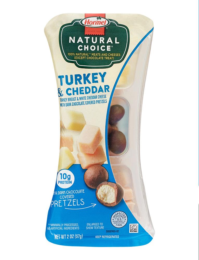 hormel turkey and cheddar snack