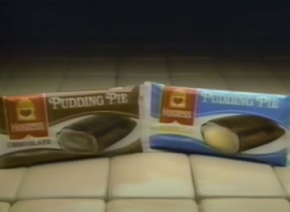 vintage hostess pudding pies