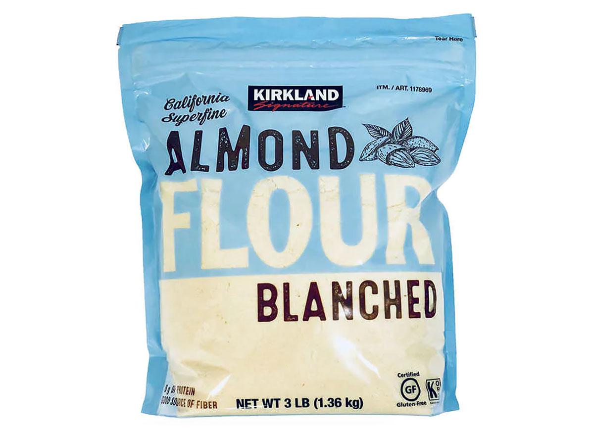 bag of kirkland signature almond flour