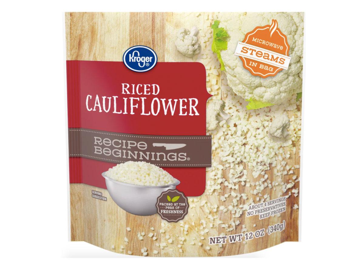 kroger frozen cauliflower rice