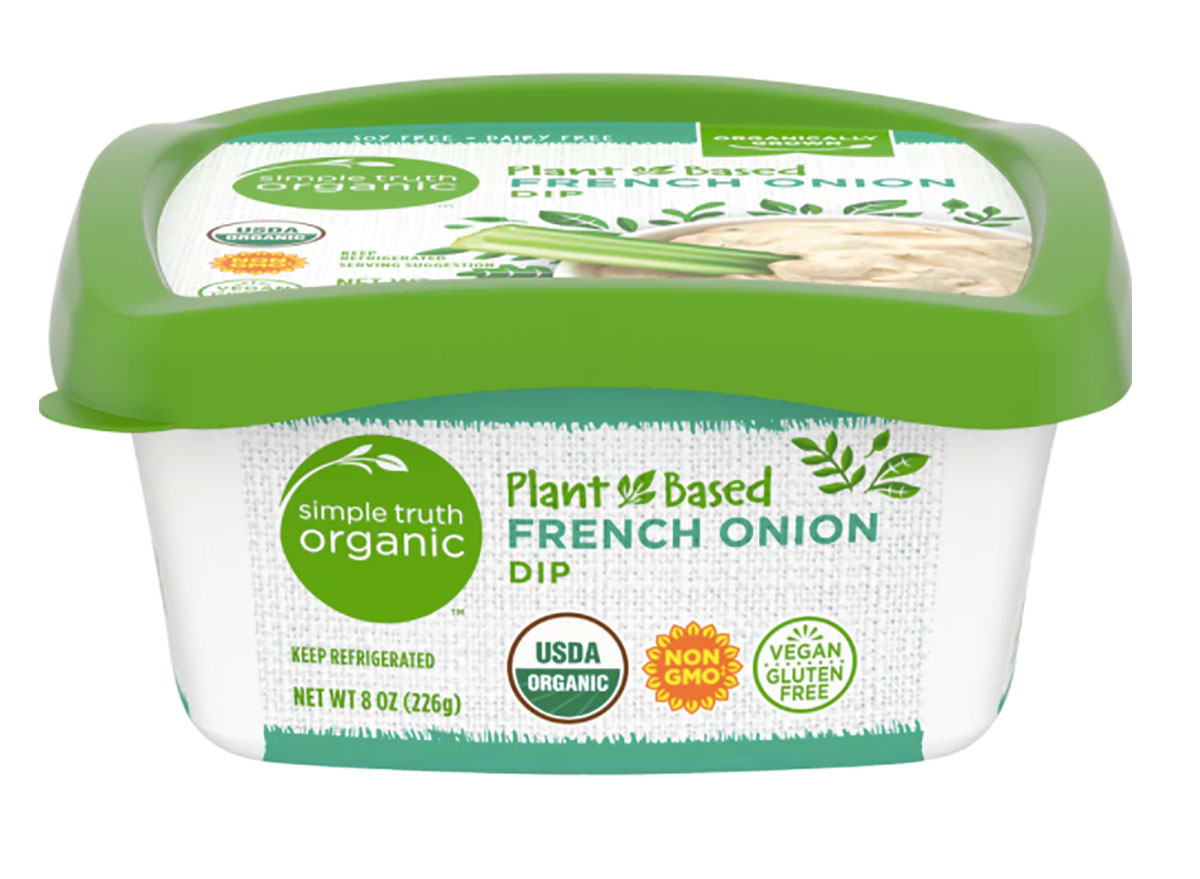 kroger simple truth french onion dip
