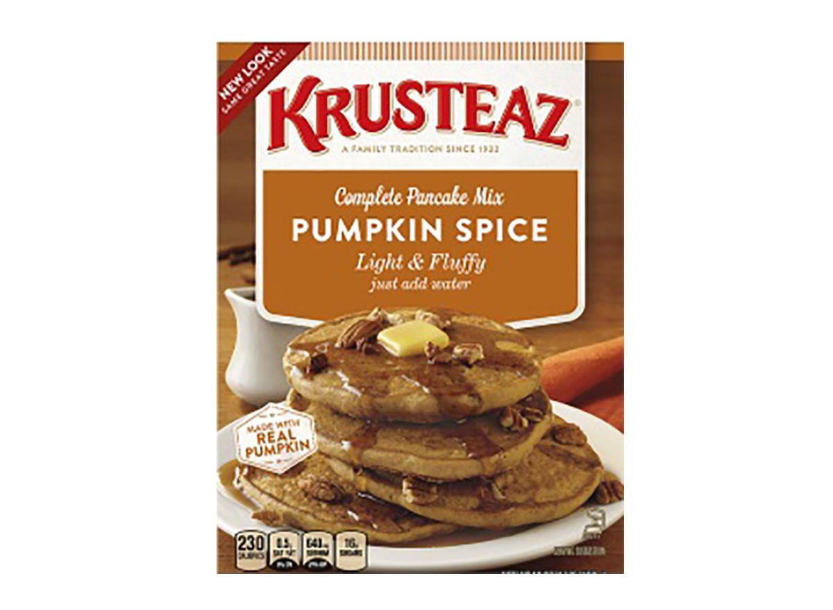 krustea pumpkin spice pancake mix