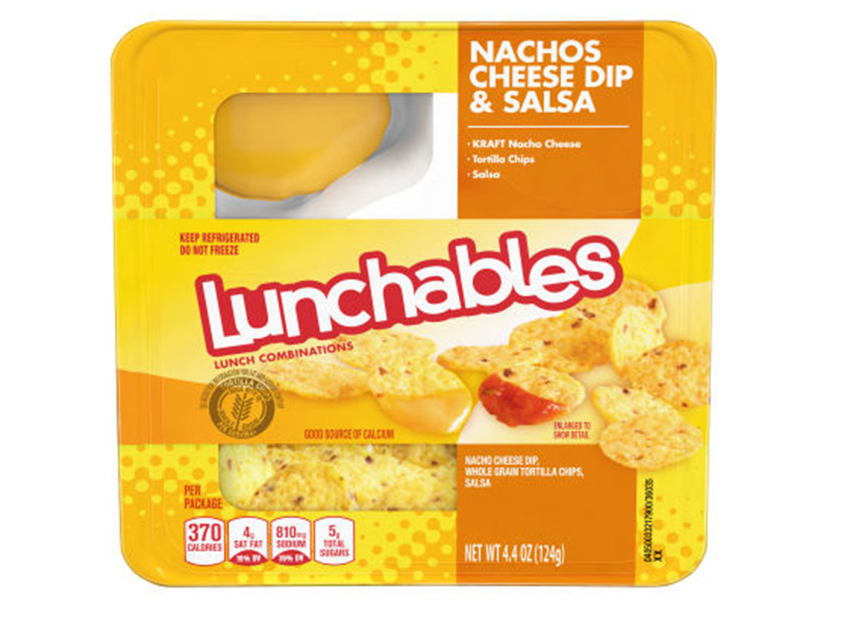 lunchables nachos and cheese dip