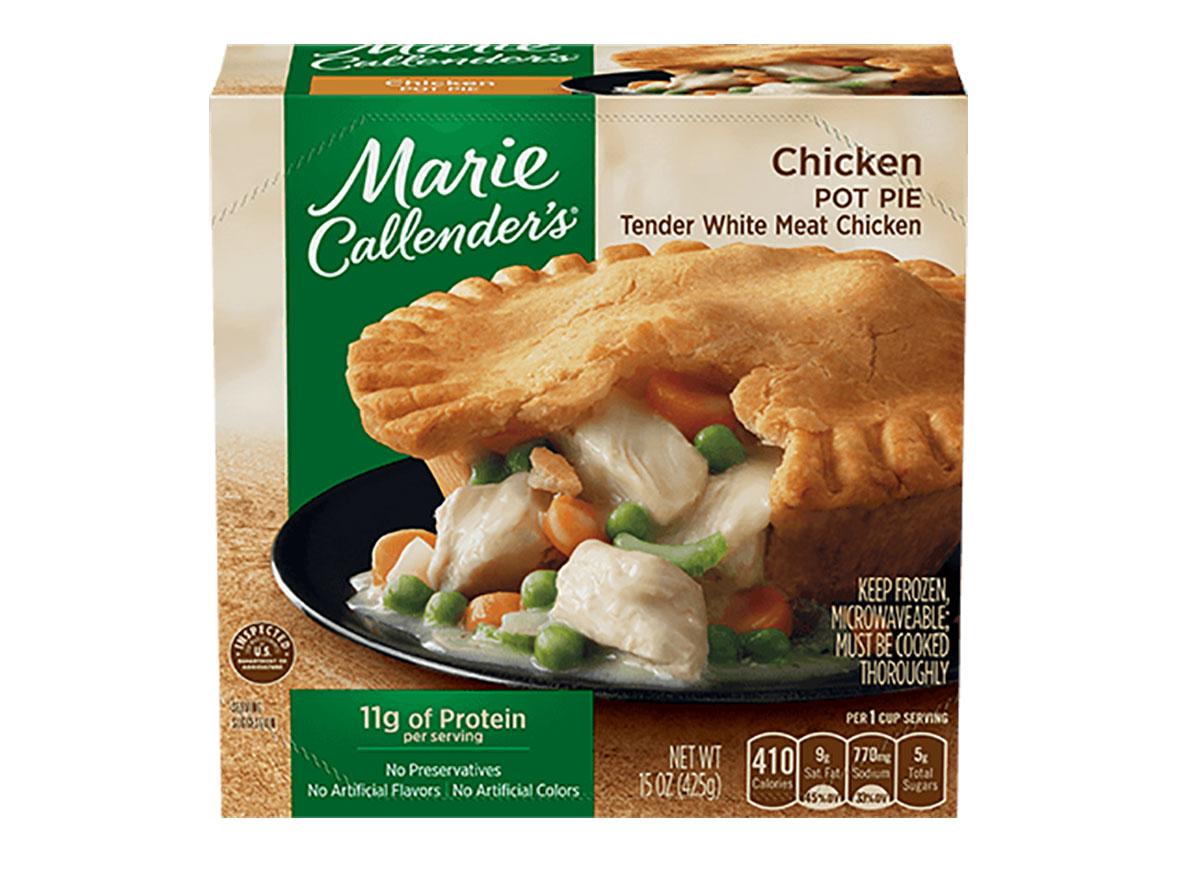 marie callenders frozen chicken pot pie