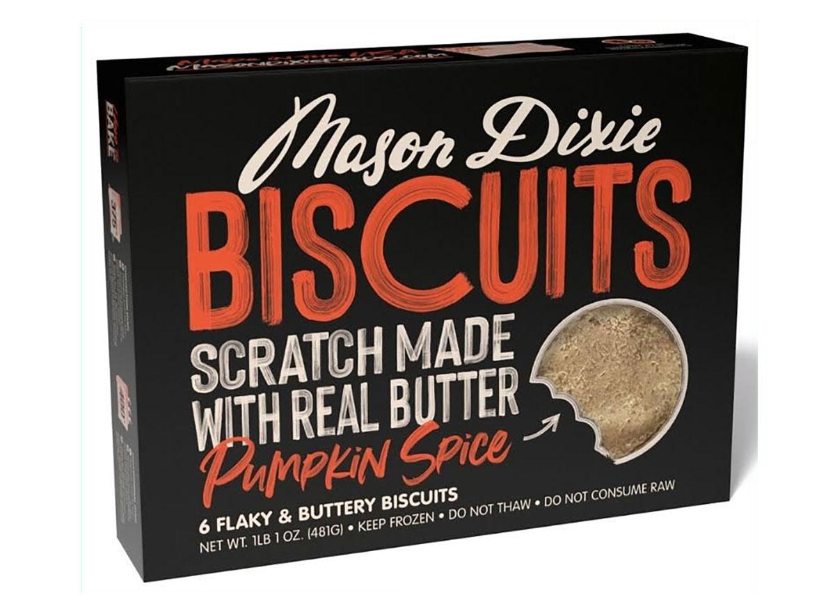 mason dixie biscuits pumpkin spice