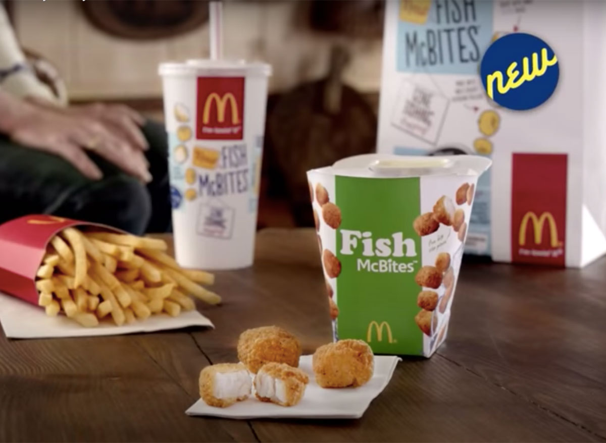 mcdonalds fish mcbites meal