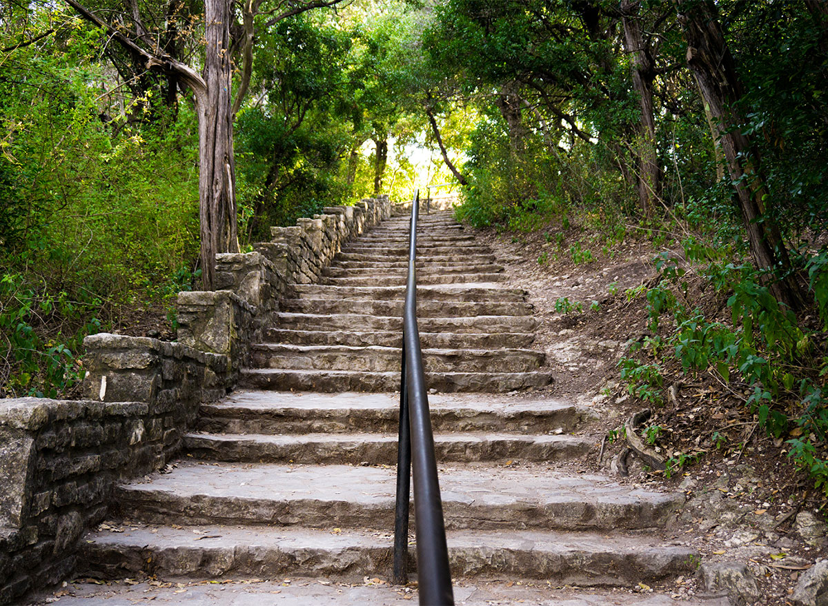stairs to mount bonnell texas