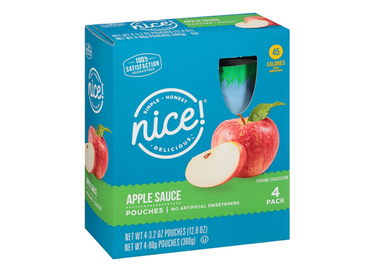nice applesauce