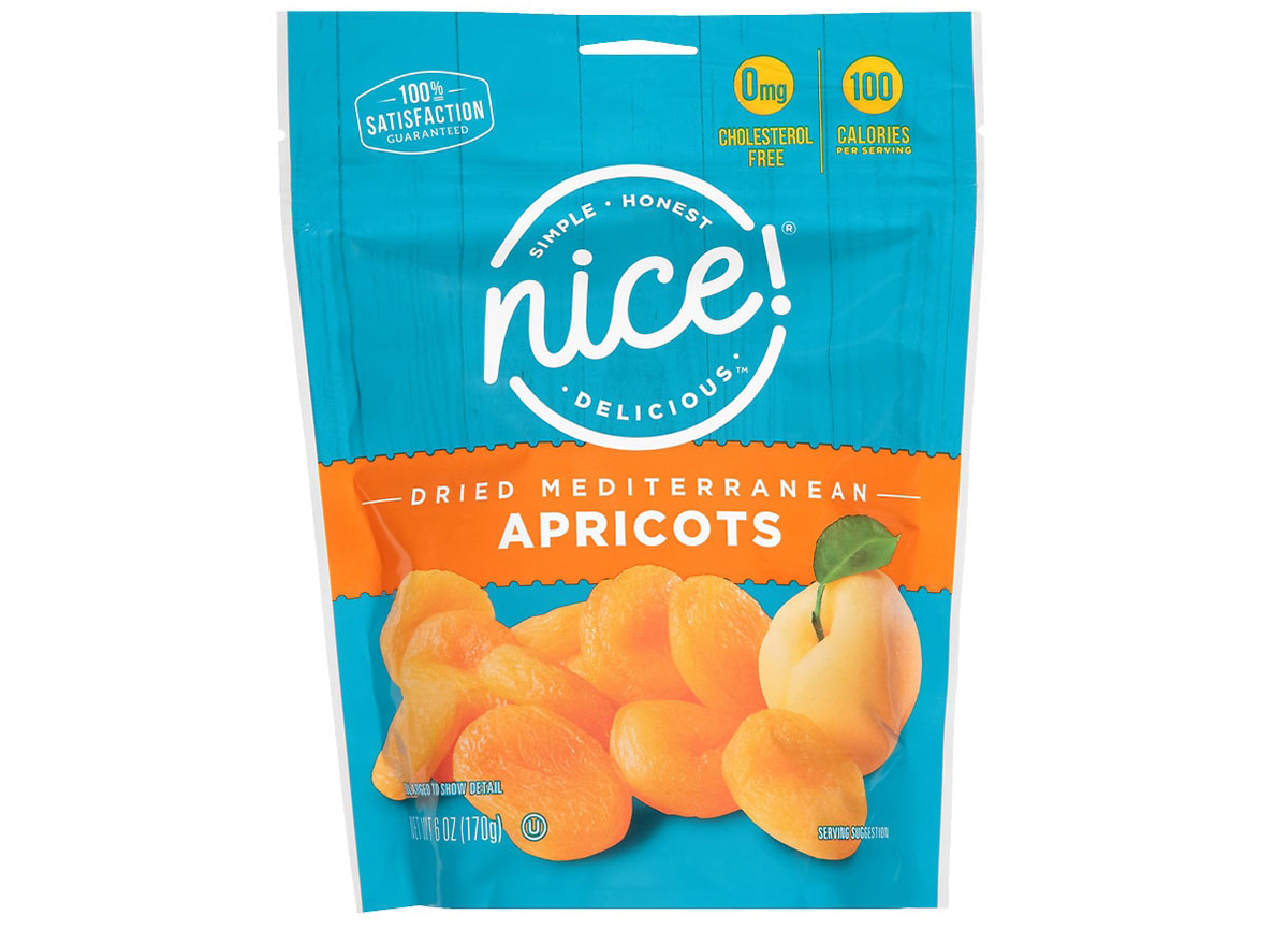 nice dried apricots