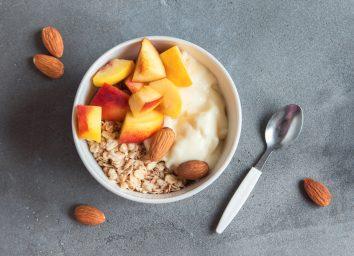 peach yogurt