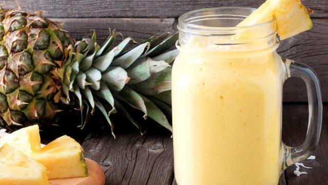 pina colada pineapple smoothie