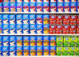 aisle of pop tarts boxes