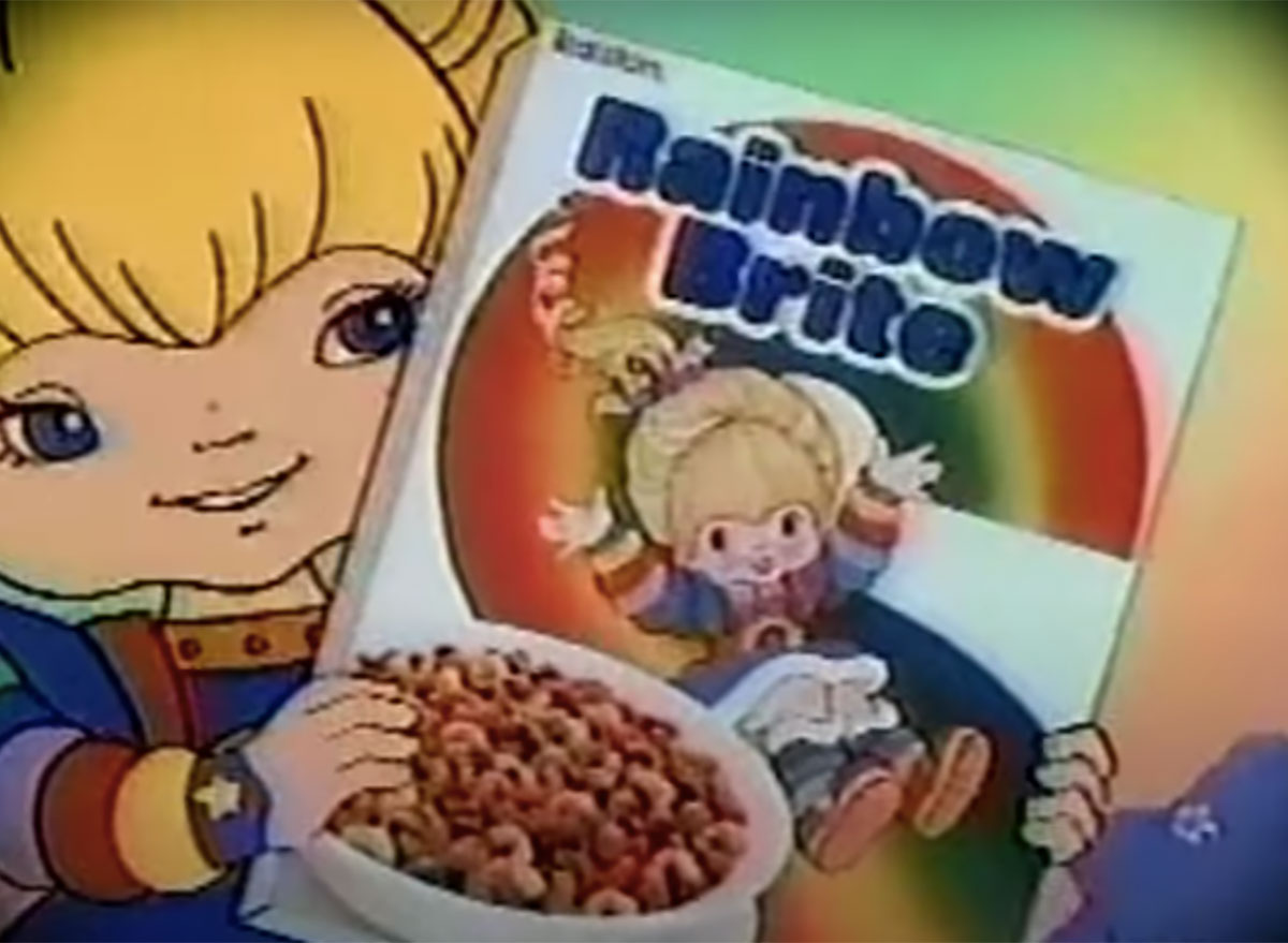 rainbow brite cereal commercial