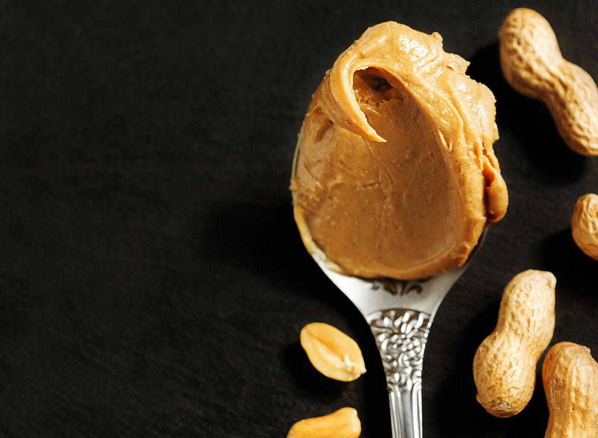 scoop peanut butter